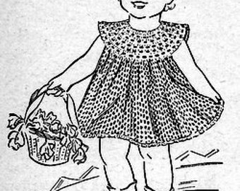 Child's Dress Crochet Pattern 723171