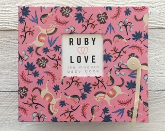BABY BOOK | Rifle Paper Co. Pink Carousel Album