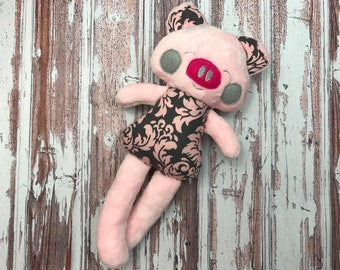 Pig Softie / Toy Pig / Stuffed Pig / Stuffed Piggy / Piggy Softie / Farm Animal / Toy for Kids / Gifts for Kids / Soft Toy / Toy Pig