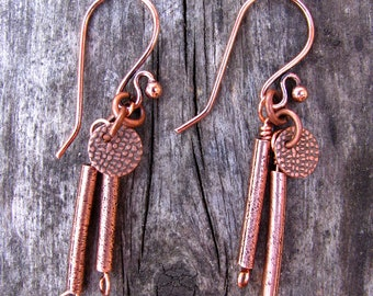 Desert Oasis Copper Dangle Earrings 4