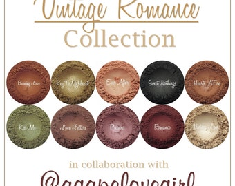 Vintage Romance Loose Mineral Eyeshadow Collection