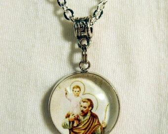 Saint Christopher necklace - AP17-313