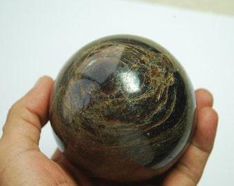 dia 3.2 inches (82mm) Natural Almandine garnet crystal sphere