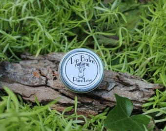 All Natural Lip Balm/ Winter all natural lip balm