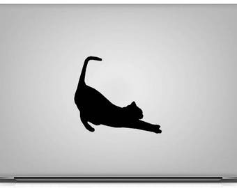 BUY 2 GET 1 FREE Stretching Cat Vinyl Decal