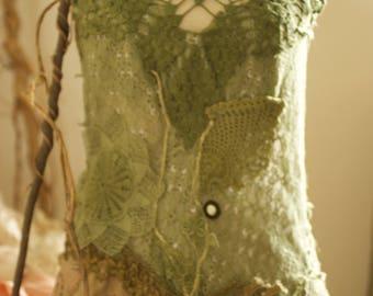 Woodland fractals festival dress