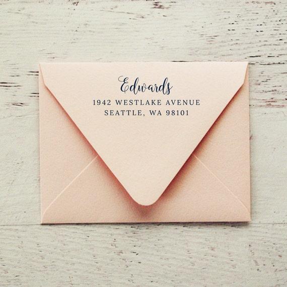 Self-Inking Address Stamp, Return Address Stamp, Custom