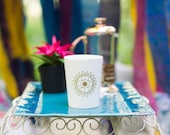 Mandala Coffee Mug - Evil Eye Coffee Mug - Evil Eye Gift - Mandala Gift - Boho Mugs - Bohemian Coffee Cup - Coffee Gifts- Nazar- Lucky Charm