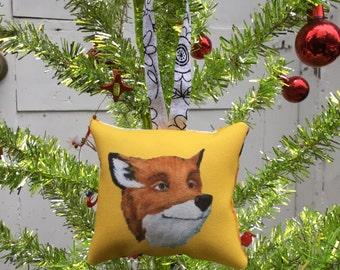 Fantastic Mr Fox Fan Art Ornament by SBMathieu