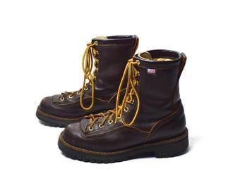 Vintage danner boots | Etsy
