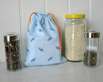 Small Bulk Bag, reusable cotton bag for zero waste bag purchase