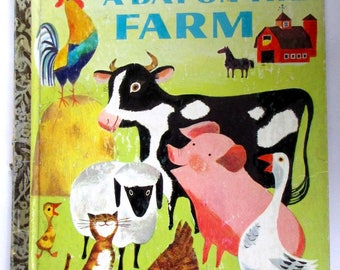 """Little Golden Book , First Edition , """"A Day on the Farm"""""""