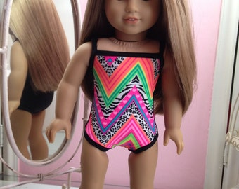 American Made Swimsuit to fit 18 inch doll