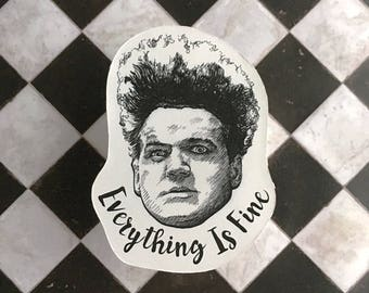 Eraserhead Vinyl Laptop Sticker | Phone Decal