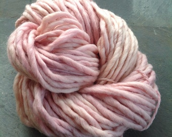 WINTER BLUSH CHUNKY- plant dyed, hand dyed chunky Oslo Wool yarn 200gr