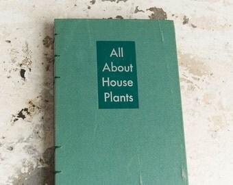 1946 HOUSE PLANTS Vintage Notebook Journal