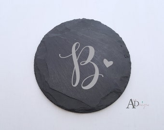 Personalized Wedding Gift Unique Wedding Gift Personalized Coasters Engraved Personalized Slate Coaster Custom Coaster Housewarming Gift