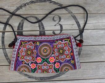 Vintage Tribal Embroidered Purse