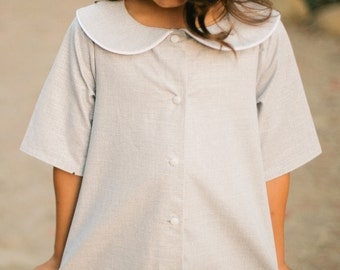 INSTANT DOWNLOAD- Madeline Dress & Shirt (Size 12/18 to Size 10) PDF Sewing Pattern and Tutorial