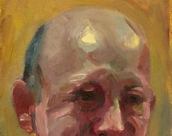Oil Sketch 13, Small Painting