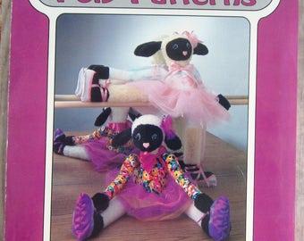 24 inch Ballerina Lamb or Draftstopper Poly-Fil Pattern UNCUT