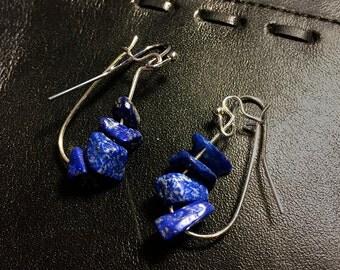 Lapis Gemstone Earrings