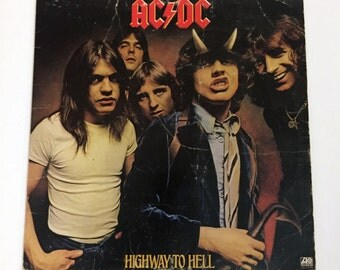 Original AC/DC Highway To Hell Vinyl Record LP 1979 Album Acdc Ac / Dc