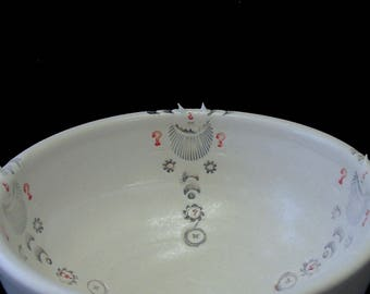 Pointed Questions Porcelain Bowl v2.0