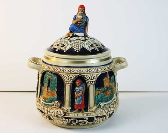 Vintage Germany Humidor  - MarziI & Remy German Historical  Sites Castles Cookie Jar / Humidor Stein / Soup Tureen