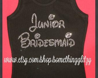 Junior Bridesmaid shirt, Junior bridesmaid, Junior Bridesmaid Bling,Junior Bridesmaid shirt, Junior Bridesmaid disney, Jr. Bridesmaid bling