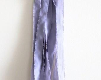Wall Hanging | Décor | Smoky Quartz | Driftwood | Fabric