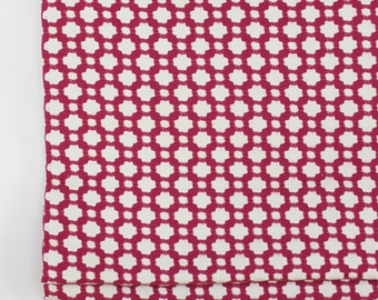 Schumacher Celerie Kemble Betwixt Roman Shade in Magenta (Comes in 16 Colors)