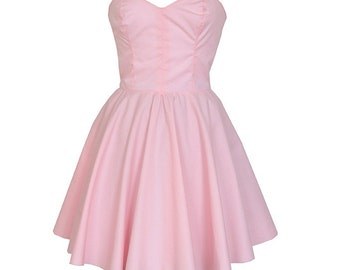 Clearance Sale - Pastel Pink Party Dress