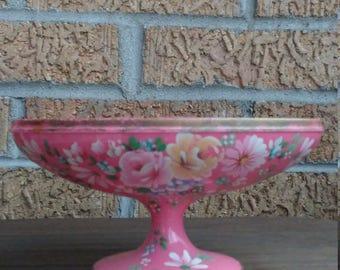Vintage Kitschy Floral Soap Dish
