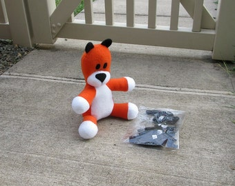 Small Hobbes Tiger Plush - Sew Your Own Stripes