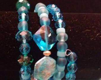 Treasure of the Sea Jeweled Bracelet 4 Rows