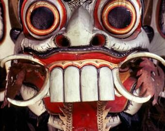 ACEO - Balinese Spirit Mask