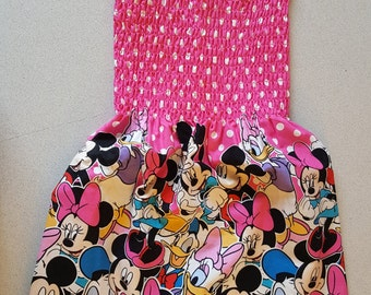 Girl's Spring/ Summer Mickey Mouse & Friends Dress