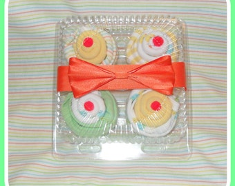 Baby Boy, Girl, Or Neutral Onesie and Washcloth Cupcakes