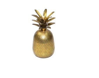 Pineapple Bar Brass Pineapple Bar Pineapple Container Gold Pineapple Bar Pineapple Barware