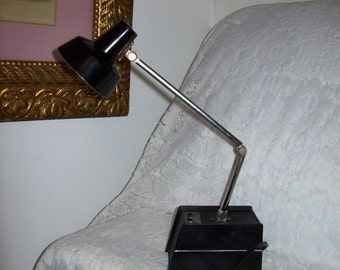Vintage Folding High Intensity Desk Lamp Light Adjustable Only 15 USD