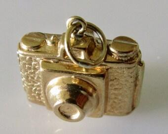 9ct Gold Camera Charm