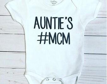 Auntie's MCM Onesie