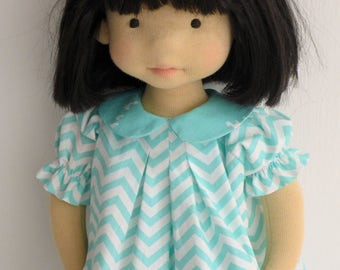 "Reserved for Lisa - 20"" waldorf doll, art doll"