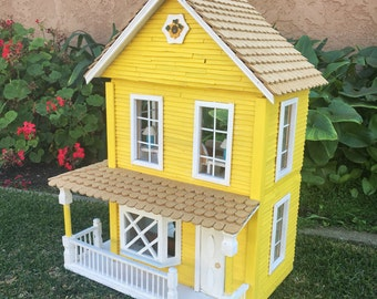 Little Yellow Dollhouse, NOT A KIT