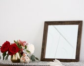 "Custom Mirror - 12"" Wide x 20"" Height - With Brackets"