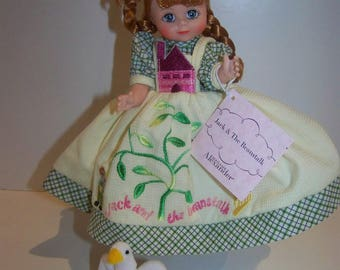 Jack and the Beanstalk and goose Madame Alexander doll