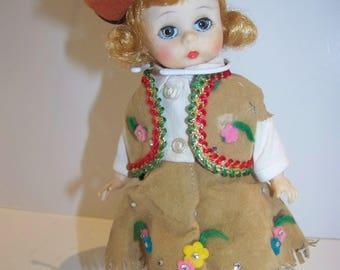 Cowgirl #1 Madame Alexander 8 in doll pristine vintage