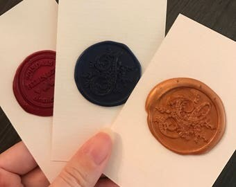 Ready Made Sticker / Sealing Wax Color Sample
