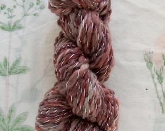 Handspun Antique Rose Merino Yarn